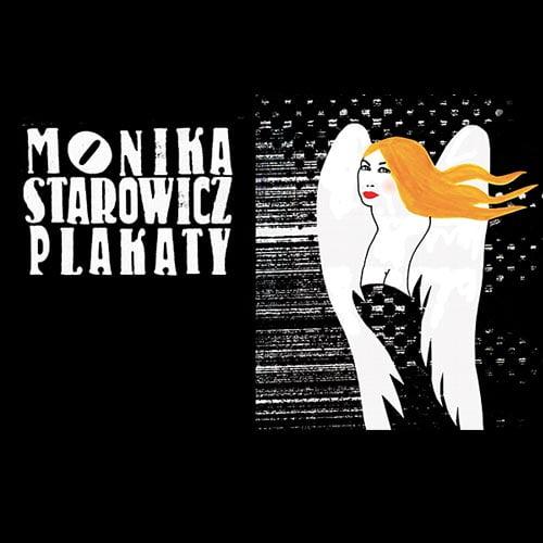 Plakat zwystawy plakatów Moniki Starowicz