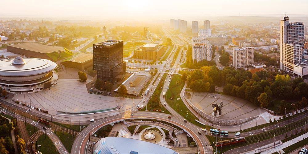 Zdjęcie ilustrujące atut WSZOP: uczymy wsercu miasta