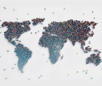 Grafika symbolizująca specjalność Migracje waspekcie bezpieczeństwa