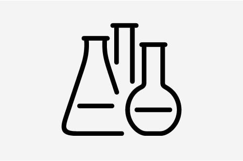 Grafika ilustrująca Laboratorium Zagrożeń Chemicznych