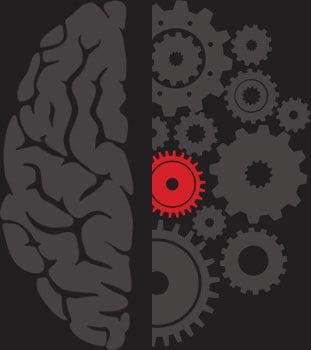 Grafika symbolizująca wiedzę zkierunku Zarządzanie iinżynieria produkcji