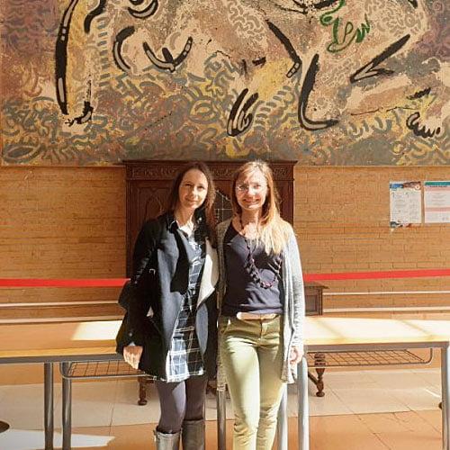 Zdjęcie Justyny Rusak zwyjazdu doPortugalii wramach Erasmus+ dla kadry