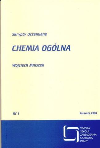 Okładka Chemia ogólna