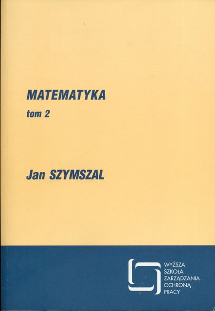 Okładka Matematyka - tom 2