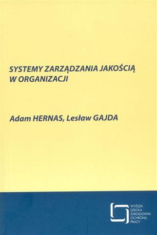 Okładka Systemy zarządzania jakością worganizacji