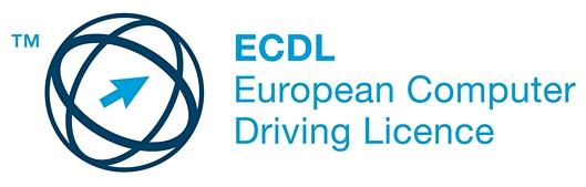 Logo Europejskiego Certyfikatu Umiejętności Komputerowych