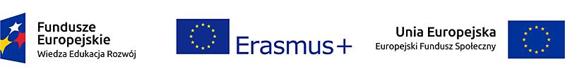 Logo Funduszy Europejskich Erasmus+