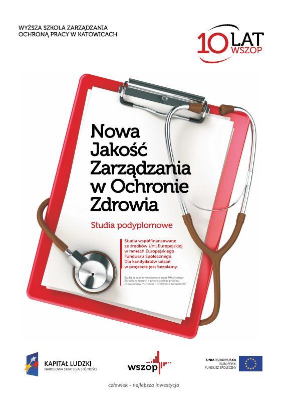 Okładka Nowa jakość zarządzania wochronie zdrowia