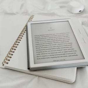 Zdjęcie ilustrujące tablet