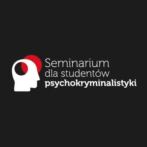 Grafika ilustrująca seminarium dla studentów psychokryminalistyki